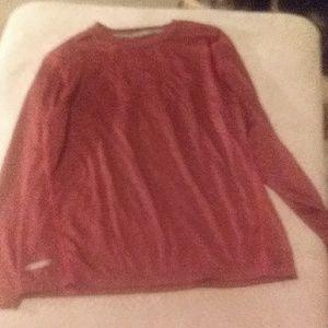 Boys long sleeved dry fit shirt